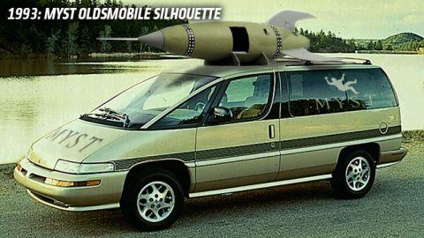 Myst Oldsmobile Silhouette (Broderbond, 1993)
