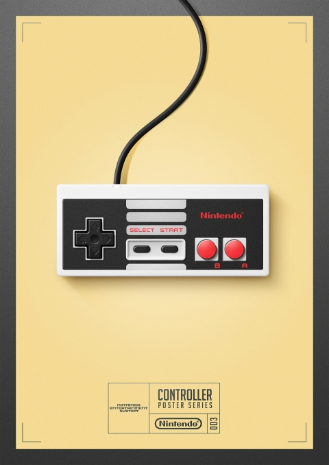 NES - Controller Poster Series by Behance