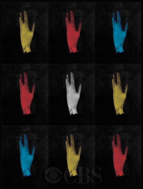 """Hand in Vulcan gesture"" por Leonard Nimoy - Star Trek's 50th anniversary"