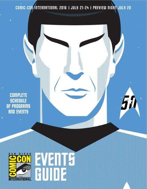 SanDiego ComicCon 2016  poster  - arte por Ty Matteson