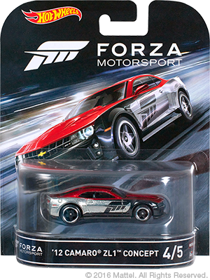 Hot Wheels Forza Camaro ZL1 01