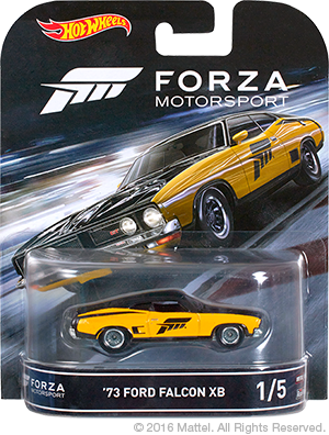 Hot Wheels Forza Ford Falcon 01