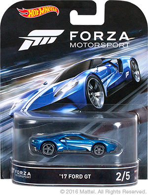 Hot Wheels Forza Ford GT 01