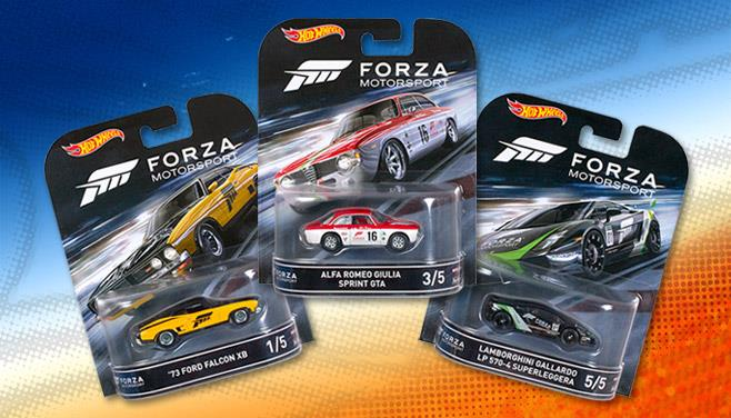 hot wheels lan a s rie inspirada em forza motorsport. Black Bedroom Furniture Sets. Home Design Ideas
