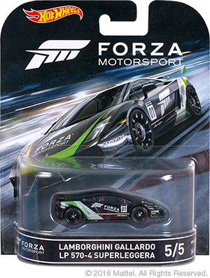 Hot Wheels Forza Lanborghini Gallardo 01
