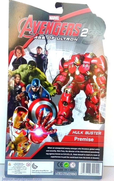 Iron Man Avengers 2 Hulkbuster back SW
