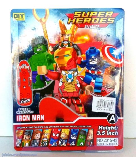 Iron Man Lego like back SW