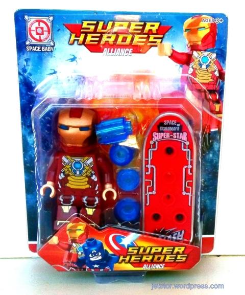 Iron Man Lego like front SW