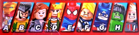 Marvel lineup S