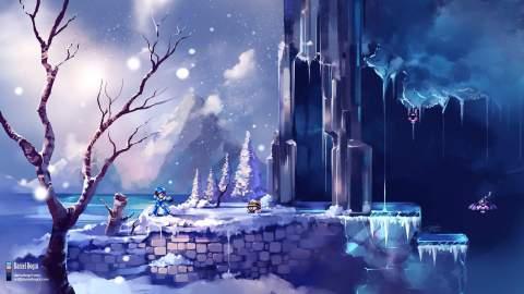 Megaman-X-Chill-Penguim-Stage-Fanart