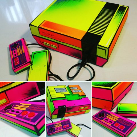 NES mod art by @cksigns1