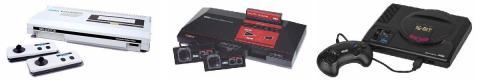Sega SG-1000 - Master System - Mega Drive