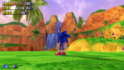 Sonic Green Hill Paradise Act 2