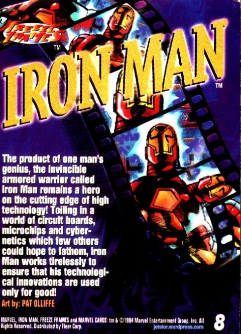 Iron Man 90s cards 01tw