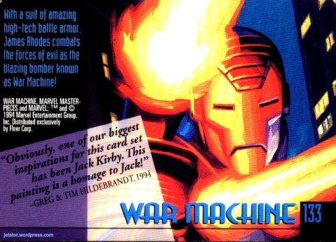 Iron Man 90s cards 06tw